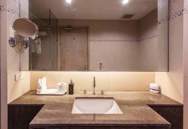 小卫生间也可以设计出豪华感 别人家的装修就是不一样!
