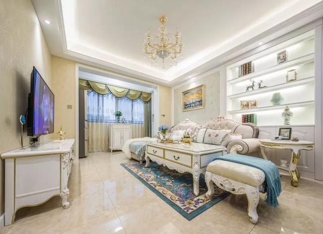 精致奢华的欧式风新房装修 衬托出浪漫典雅的家居气质