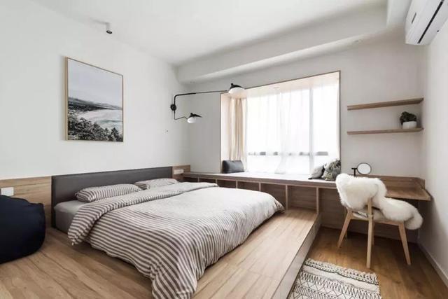 8平米小空间卧室设计 这么装都抢着住!