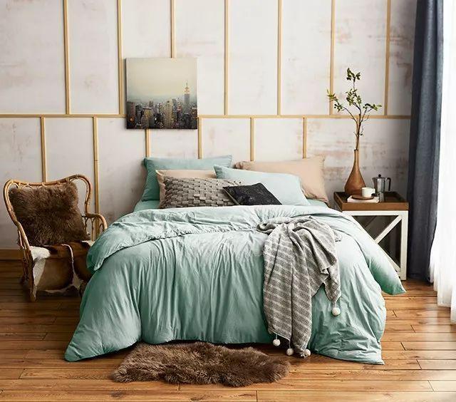 油菜花开的季节这样搭配床品 被暖意宠上天
