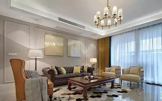 美式风格这样装 小房子都可以变大户型!