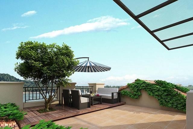 露天阳台装修设计 这三个细节特别重要