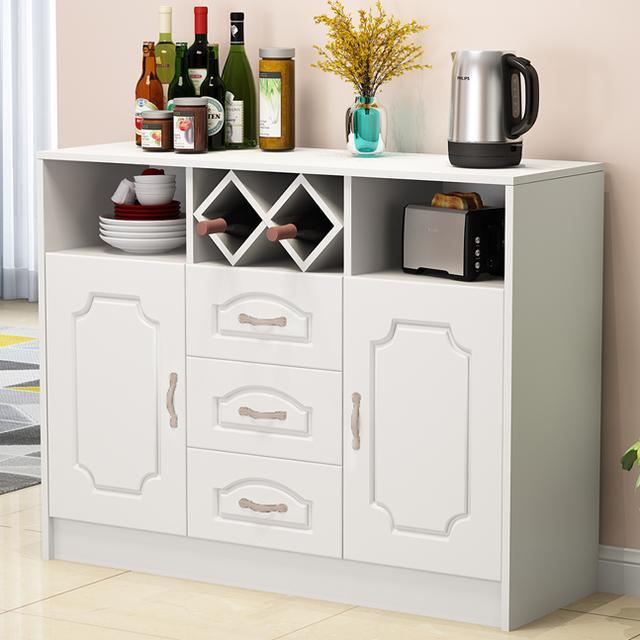 实用的餐边柜款式设计 整洁收纳两不误