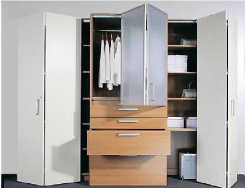 折叠门适用于衣柜吗?#31354;?#21472;门衣柜优缺点介绍