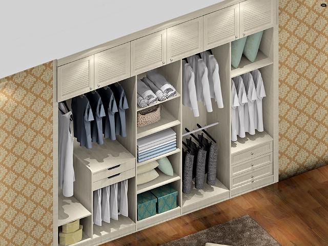 小卧室怎么做衣柜 这几种方式最被追崇