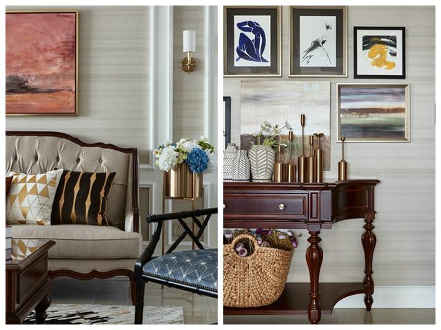 200㎡美式古典风新房装修设计 营造奢华优雅又复古的家居味道