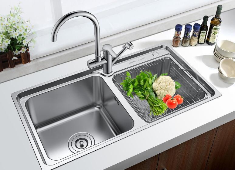 不锈钢水槽尺寸是多少 不锈钢水槽怎么安装