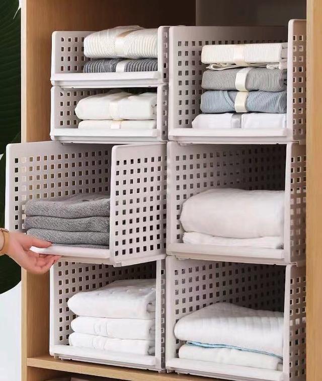 一個屬于衣柜收納盒的魅力 衣柜瞬間增加5倍空間