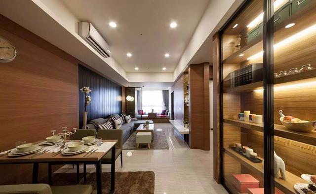 90㎡现代简约装修 2+1房加出1个飘窗卧榻!