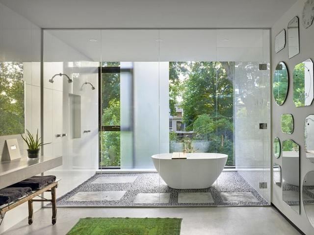 漂亮的浴室怎样才能有 别人都是这么装修的