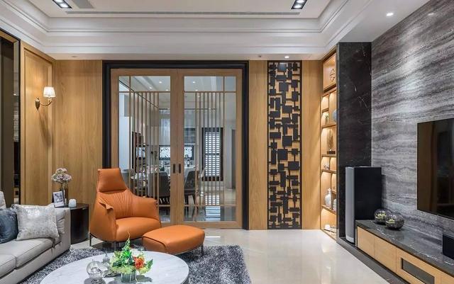 当新中式装修遇上别墅 奢华住家竟是如此艳绝!