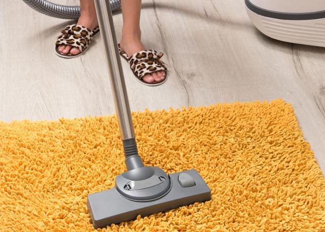 地毯清洁有技巧 有省时省力的方法干嘛不用