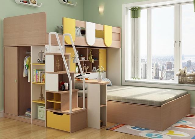 家里俩娃儿童床款式选哪个 请收下这份挑选法则