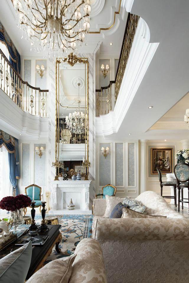 360平米法式风格独栋别墅 兼备优雅豪华舒适营造浪漫情调