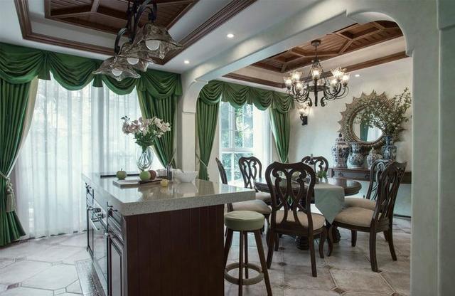 180平美式豪宅设计 装修费用竟然高出买房费用一半 太奢侈了