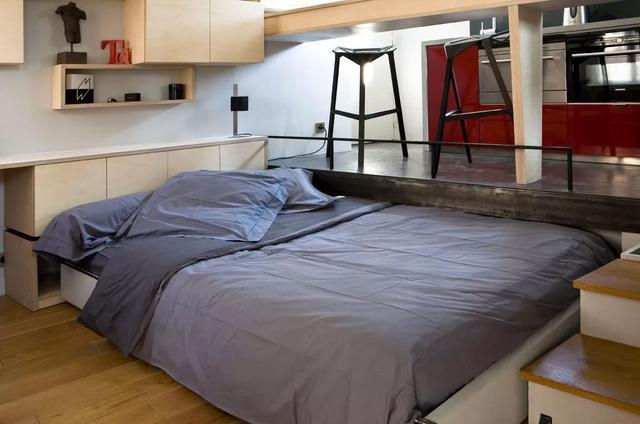 14㎡单身公寓装修 脑洞大开的空间设计