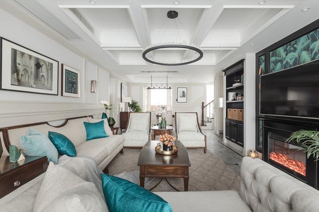 260平简美别墅装修设计 打造优雅惬意的家居生活空间