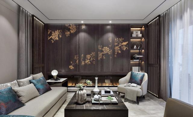 25款新中式客厅装修效果图 来瞧瞧有没有你钟意的一款