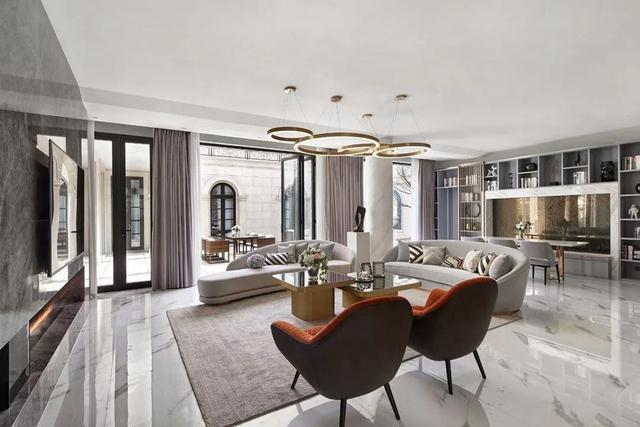20款现代轻奢风客厅 营造出不浮夸的高级感