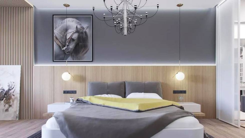 臥室燈光照明設計