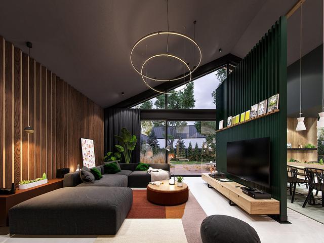 一个以星?#35270;?#23449;为主题的装修风格时尚家居空间