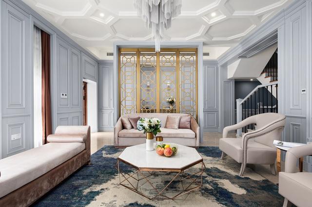 美式轻奢风新房装修设计 营造清新优雅而不失浪漫的家居情调