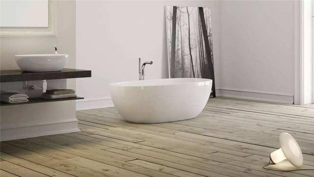 选对浴缸的款式大小 36㎡单身公寓也能享受到