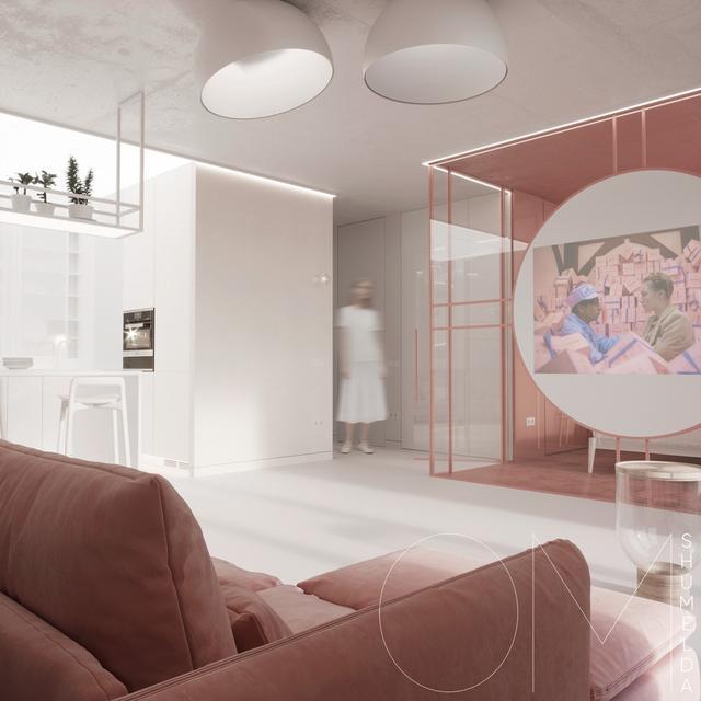 粉红色与少女搭配的室内设计有灰色心的人一viv少女有什么内容图片
