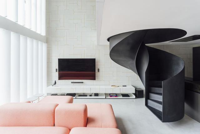 小户型公寓空间改造 变身时尚阁楼式空间