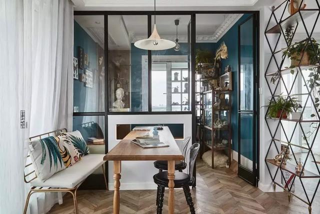 充满氛围感的新房装修 轻法式偶遇轻工业