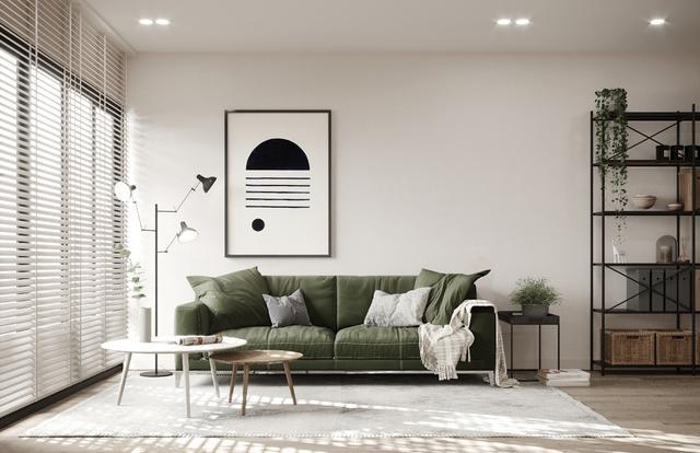 四个用植物点缀的北欧风格的住宅装饰设计