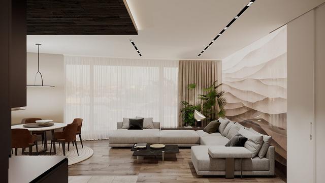 现代优雅的住宅装修设计 给人一种平静的家居感觉