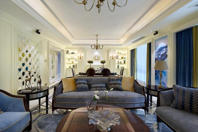 280平米色调别墅装修设计 打造沉稳大气优雅的家装