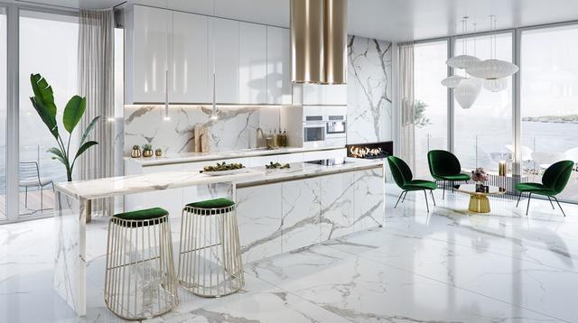 分享10个豪华厨房空间的设计美学