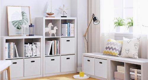 创意时尚的书房书柜设计 书本的收纳神器