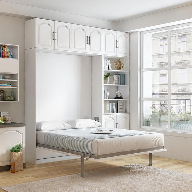 书柜隐形床设计 这样书房设计都非常适合小户型