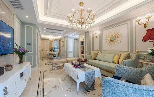 轻奢简欧风新房装修 打造时尚典雅舒适的家装