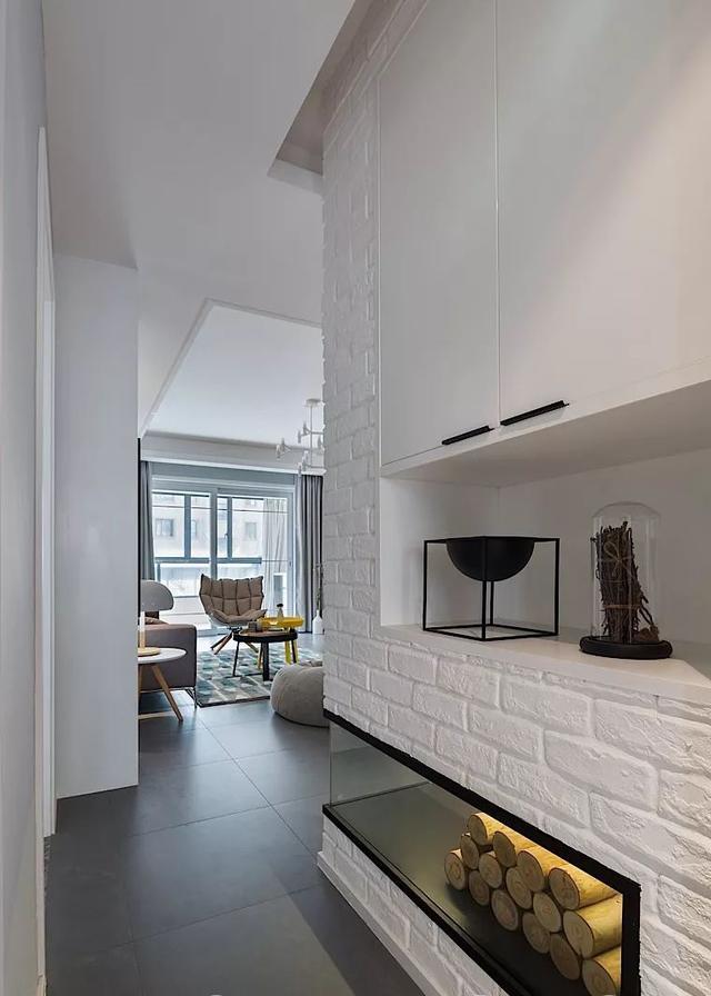 106平现代简约风格三居装修 色彩搭配清新时尚大气