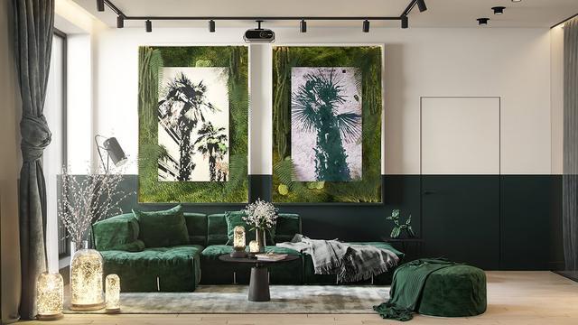 把植物融入家居中 使空间充满自然的活力