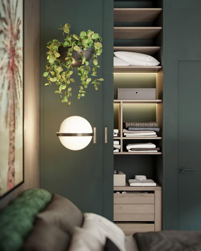 把植物融入家居中,使空间充满自然的活力
