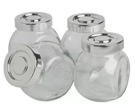 玻璃调味罐