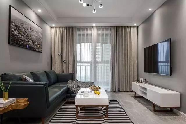 灰色现代简约装修风格 当下比较流行的风格