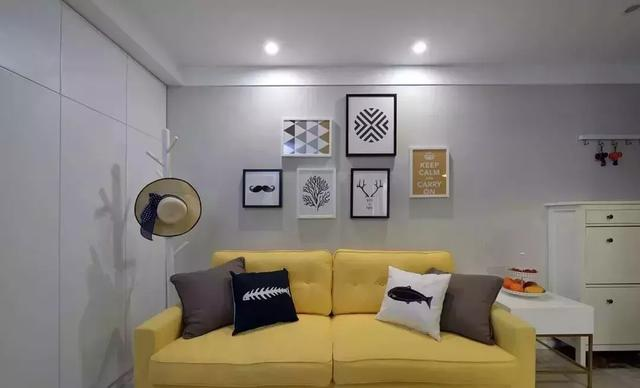 小两房一厅装修——55平小两房,舒适又随意