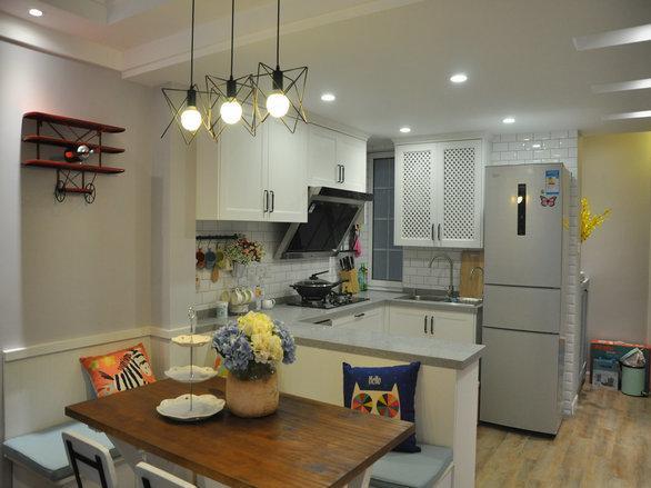 小两房一厅装修——80平小两房,木以载道 荼之物语