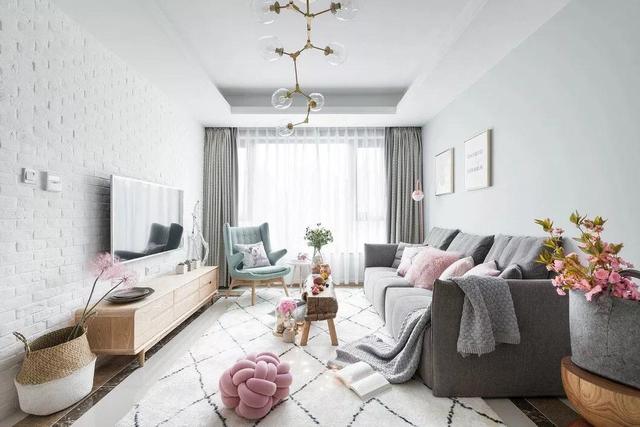 20款客厅北欧装修效果图 每一款都很惊艳迷人