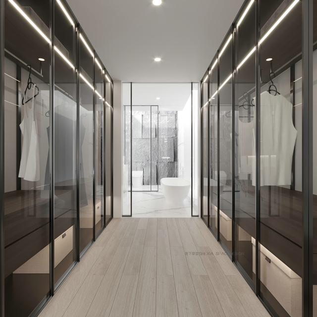 步入式衣柜