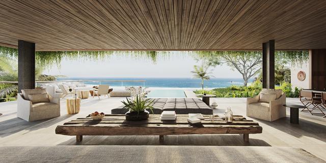 印度尼西亚的别墅图片 这里面朝大海&春暖花开