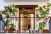 阳台怎样布置养花架子 想阳台有个性又美观那就这么干