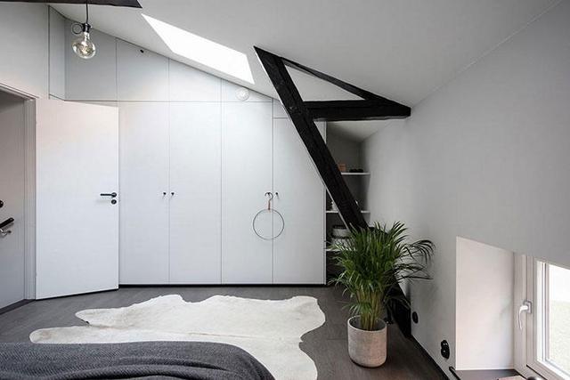 48m?复式小公寓,极简风撑起颜值家