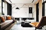 139㎡现代高级灰装修风格,沙发如何搭配?